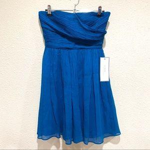 J.Crew Strapless Party Dress (NWT) Silk